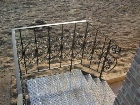 Rampe D Escalier En Fer Forge